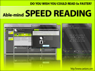 Able-mind SPEED READING screenshot